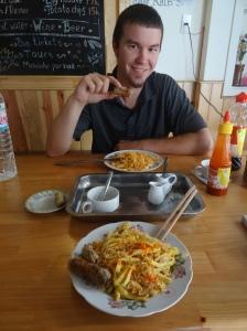 Happy Hostel Breakfast